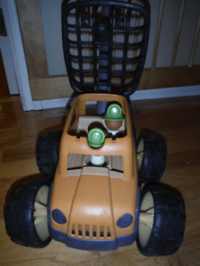 Plan Eco Push Toy Safari Truck with Light and Sounds