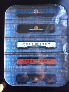 Model Train N scale Micro Trains  Old Timer 5 passenger cars set