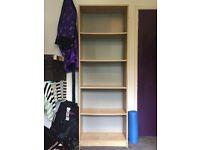 Tall book case / shelves