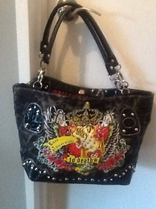 Ed Hardy and Juicy Couture purses
