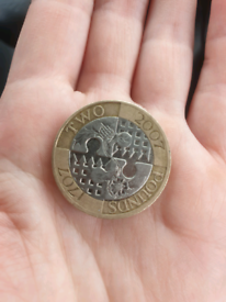 Act of Union £2 coin 2007