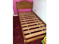 Solid Pine Wooden Single Frame