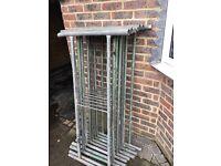 Metal stacking tower
