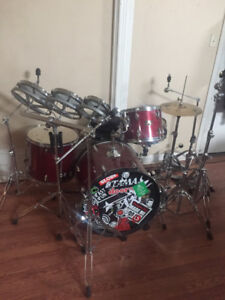 Drums - 4 piece Imperial Star Tama - OBO