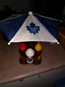 Toronto Maple Leafs Condiments Caddy with Umbrella