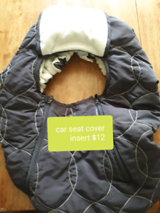 Car seat cover insert blanket