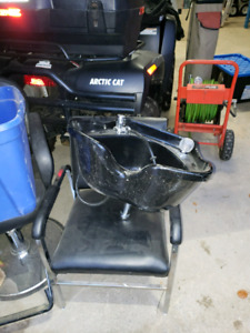 Hairstylist Chair and Sink for Sale!