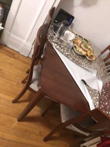 Items for sale  (couch,dining table,frame)