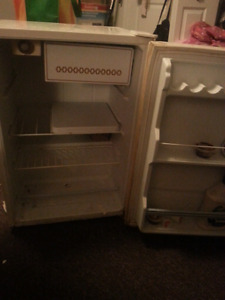 Older working mini fridge