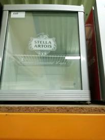 Stella glass door table top fridge at Recyk Appliances