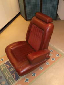 Vintage Mercury Grand Marquis 1977 Leather Seat