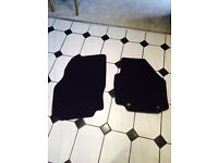 Official ford mondeo front car mats