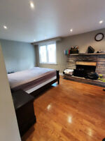 Furnished Room for rent in beautiful house, at Yonge and Finch
