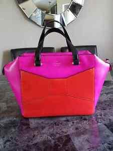 kate spade beau snapdraggon pink red handbag tote purse Belleville Belleville Area image 5