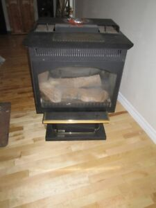 Napolean propane fireplace