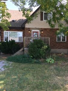 Main Floor with Full Basement Apartment for Rent