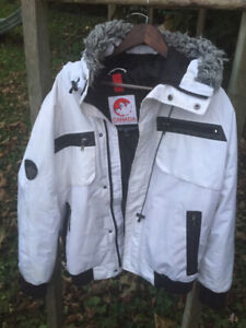 d725163254c057 Jordan winter down jacket xl. White mens triple canadian goose jacket MEDIUM