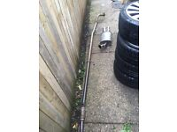 Corsa c 1.2 & 1.4 stainless exhaust system