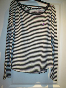 Polo Ralph Lauren Lady's Stripped Top - Size XL