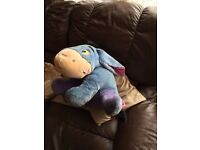 Disney Eeyore from Winnie the Pooh Soft Toy cuddly teddy, Disney, he talk,