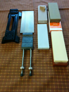 RAZOR BENCH,  SHARPENING SET,  KNIFE STONE, RAZOR HONE
