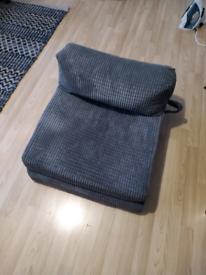 Fold-out single futon