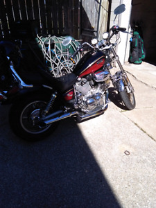 Certified 1100 cc Yamaha Virago '86