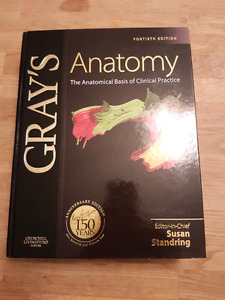 NEW Grays Anatomy 14th edition Anatomical Basis of Clinical...