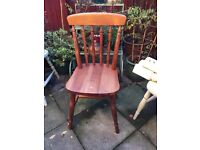 Ducal pine chair