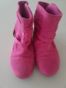 Pink Boots - Kid Size 10