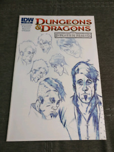 Dungeons and Dragons #1 - Forgotten Realms Sketch Variant.