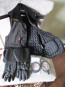 Woman's Heated Vest & Gloves