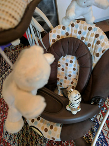 graco soothing vibration swing
