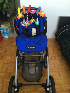 Quinny stroller and baby car seat for sell