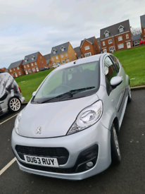 2014 Peugeot 107 manual 3dr 11 months M.O.T zero tax 45000 miles
