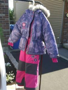 Habit d'hiver fille 2 ans