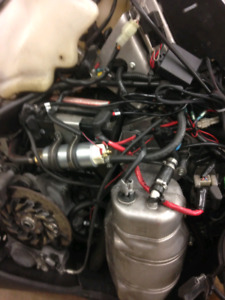Complete Turbo set up including engine for Nytro