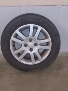 2001 civic si/lx tires and rims
