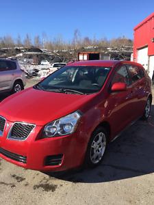 2009 Pontiac Vibe Certified Sedan 95 000km