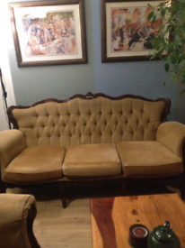 Sofa Set with 2 armchairs