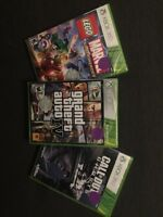 3 New (sealed) Xbox360 games