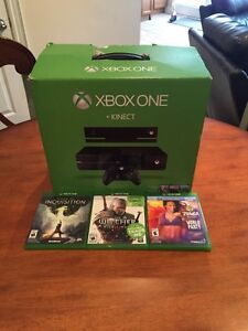 Xbox One Bundle With Kinect & Games!