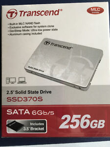 256GB Solid State Drive from Transcend