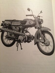 1965 Honda 65 Sport Parts List Regina Regina Area image 3