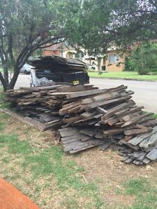 HARDWOOD FENCE MUST GO ASAP St Ives Ku-ring-gai Area Preview
