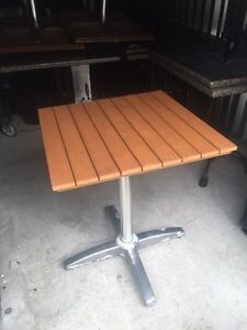 5 Patio tables available. Only $30 each