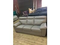 Real leather sofas new