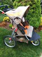 $60 Expedition  double jogger stroller