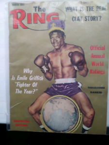 The. Ring boxing magazines. 1965