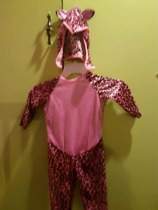 Pink leppord cat 18-24months  halloween costume